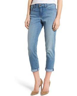 Alex Roll Cuff Stretch Ankle Skinny Jeans