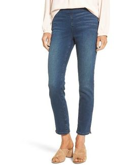Alina Pull-on Stretch Ankle Skinny Jeans