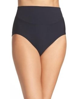 High Waist Bikini Bottoms