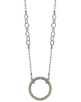 Enso Pendant Necklace