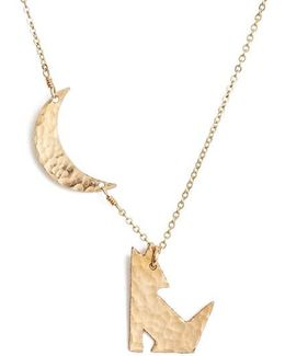 Coyote Pendant Necklace