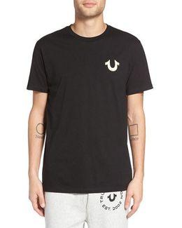 Gold Buddha Graphic T-shirt