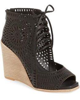 Rayos Perforated Wedge Sandal
