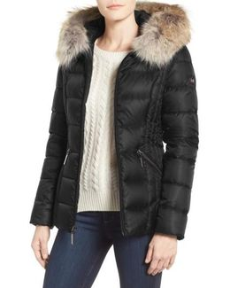 Genuine Coyote Fur Trim Down Parka