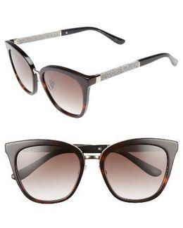 Fabry 53mm Sunglasses - Havana