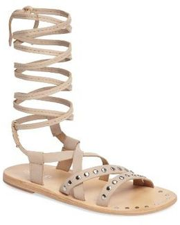 Steeler Ankle Wrap Sandal