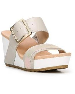 Original Collection Frill Wedge Sandal