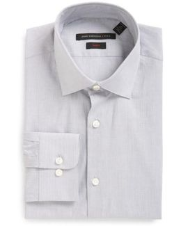 Soho Slim Fit Stretch Stripe Dress Shirt