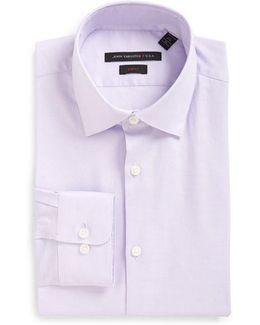 Soho Slim Fit Stretch Solid Dress Shirt