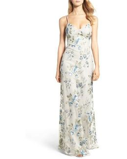 Julianna Embroidered Gown