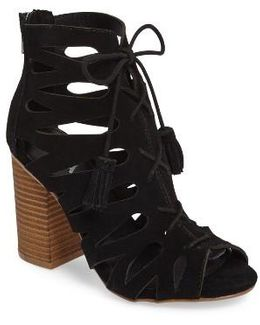 Cara Lace-up Gladiator Bootie