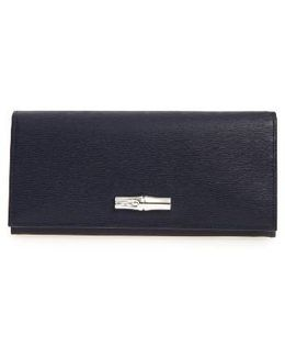 Roseau Leather Continental Wallet