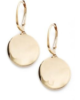 Concave Drop Earrings (nordstrom Exclusive)