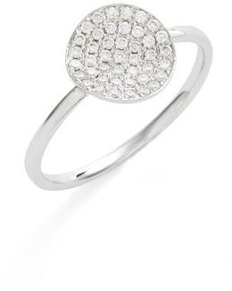 Aurelia Small Diamond Concave Ring (nordstrom Exclusive)