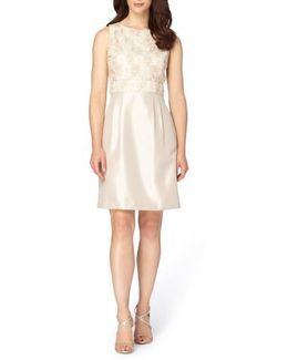 Mixed Media A-line Dress
