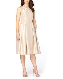 Embellished Fit & Flare Dress