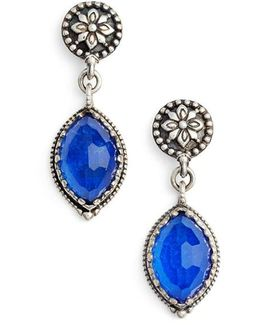 Andromeda Lapis Lazuli Drop Earrings