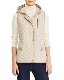 Hooded Quilted Vest