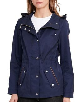 Hooded Drawcord Jacket