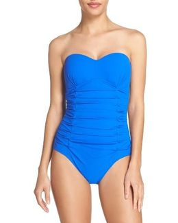 Origami Bandeau One-piece Swimsuit