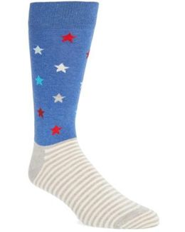 Stripes & Stars Socks