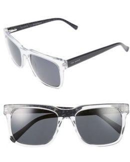 55mm Polarized Sunglasses - Crystal