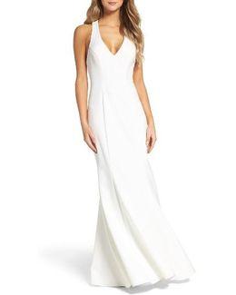 T-back Mermaid Gown