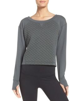 Dance Off Crop Pullover