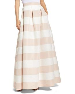 Stripe Ball Skirt