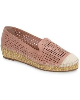 Channing Cutout Espadrille Loafer