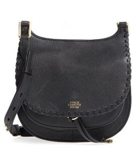 Small Lidia Leather Crossbody Bag
