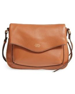 Dafni Leather Crossbody