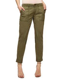 Sergent Crop Straight Leg Pants