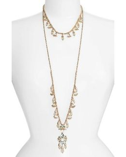 Sheer Bliss Set Of 2 Layering Necklaces