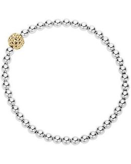 Caviar Icon Ball Bracelet