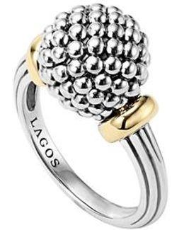 Caviar Forever Medium Dome Ring
