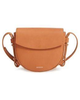 Mini Lobelle Leather Saddle Bag