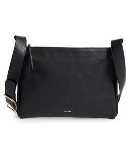 Slim Anesa Leather Crossbody Bag