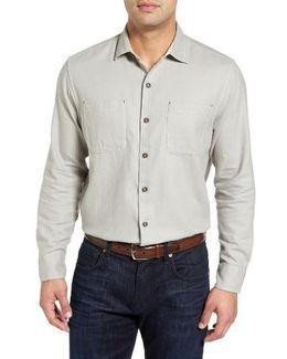 Sea Glass Original Fit Flannel Shirt