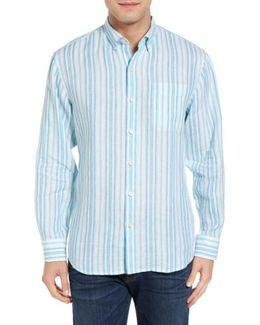 Pintado Stripe Linen Sport Shirt