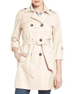 Double Gunflap Trench Coat