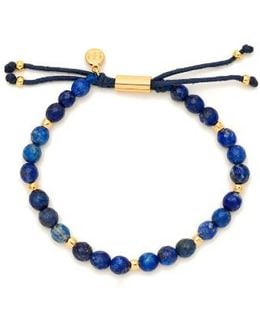 Power Semiprecious Stone Beaded Bracelet