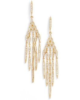 Kate Pave Chandelier Earrings