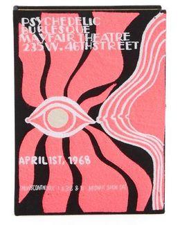 Psychedelic Burlesque Book Clutch