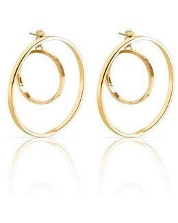 Rise Hoop Earrings