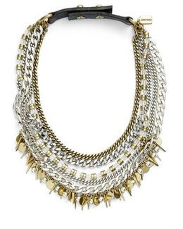 Talitha Multistrand Collar Necklace