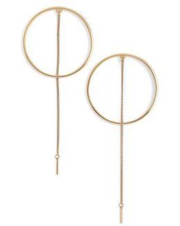Rhine Frontal Hoop Earrings