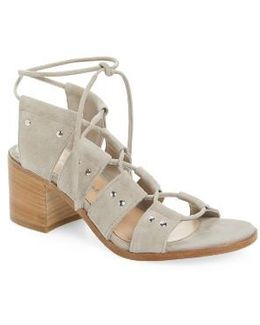 Birch Block Heel Sandal
