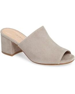Charles By Brie Open Toe Mule