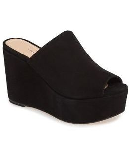 Charles By Padma Platform Wedge Mule